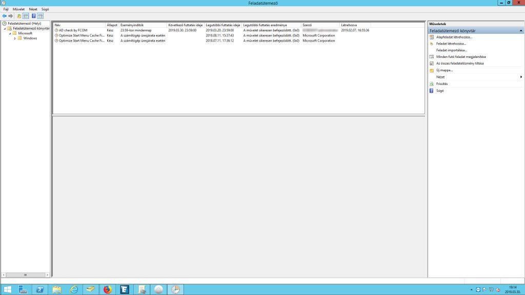 Windows feladatütemező