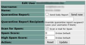 EFA user manager